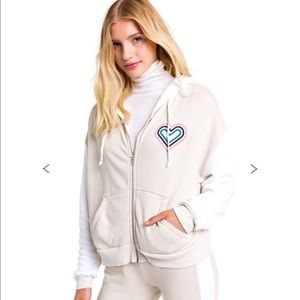 Wildfox retro fox milk run hoodie XS NWT
